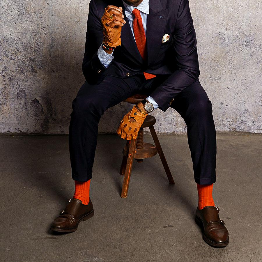 Luxuriöse und elegante Business Socken für Männer in verschiedenen Farben