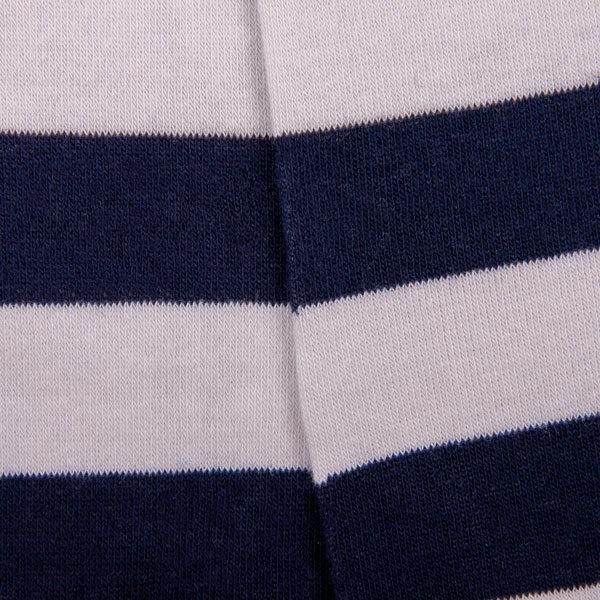 Gestreifte Sneaker Socken mit PATRON SOCKS Schriftzug