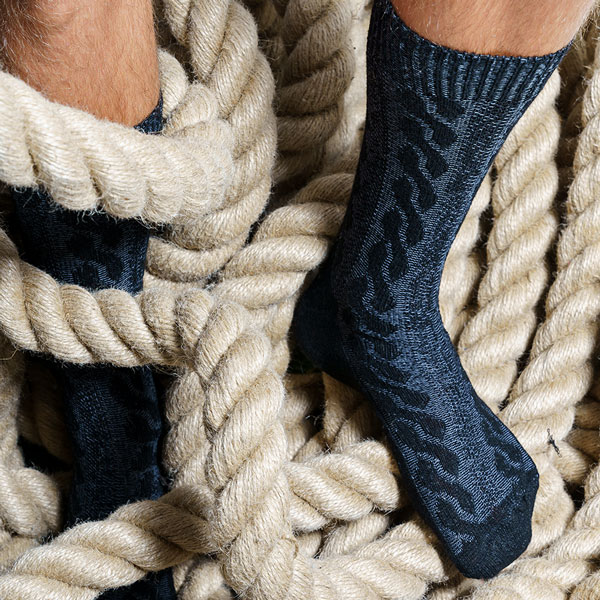 Anthrazit Farben Kashmir Socke von PATRON SOCKS