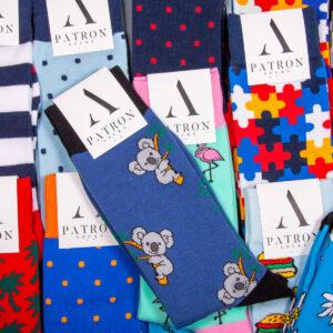 Viele bunte Socken von PATRON SOCKS