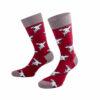 Bunte Kölner Haie Socken von PATRON SOCKS mit dem typischen Hai Motiv