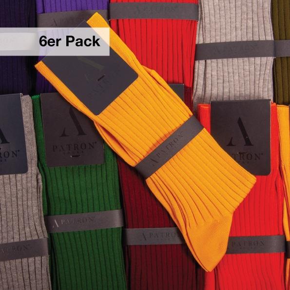Buntes Socken Bundle mit Business Socken für Männer von PATRON SOCKS