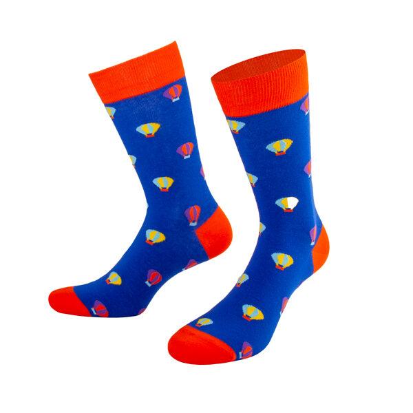 Farbenfrohe coole Fesselballon Socken von PATRON SOCKS