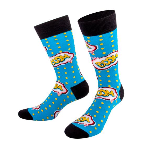 Blaue Boom Socken von PATRON SOCKS