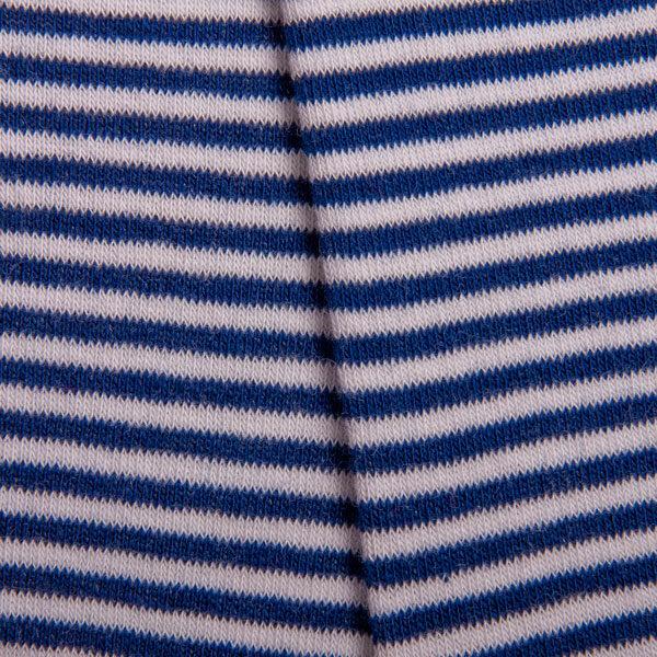 Gestreifte blau weiße bunte crazy Herrensocken von PATRON SOCKS