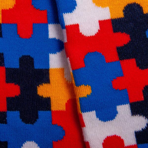 """Bunte lustige Socken """"Puzzle"""" von PATRON SOCKS kaufen"""