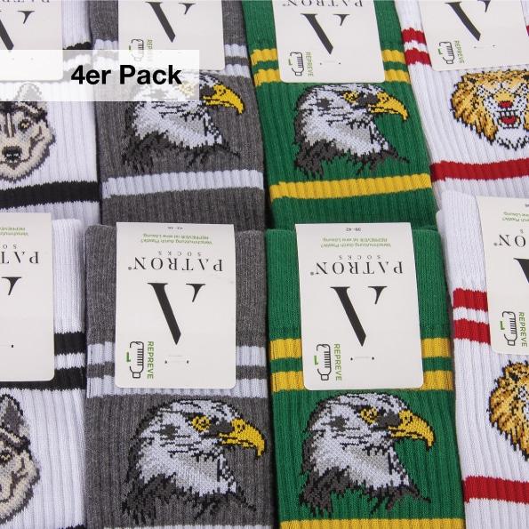 Sport Socken 4er Pack